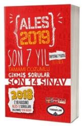 Yediiklim Yayınları - 2019 ALES Son 7 Yıl Tamamı Çözümlü Çıkmış Sorular Yediiklim Yayınları
