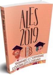 Benim Hocam Yayınları - 2019 ALES Tamamı Çözümlü 5 Deneme Sınavı Benim Hocam Yayınları