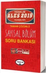 Yediiklim Yayınları - 2019 ALES Tamamı Çözümlü Sayısal Bölüm Soru Bankası Yediiklim Yayınları