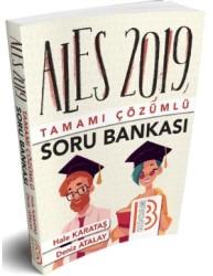Benim Hocam Yayınları - 2019 ALES Tamamı Çözümlü Soru Bankası Benim Hocam Yayınları