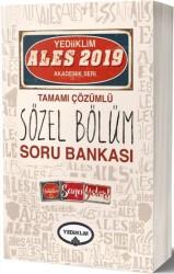 Yediiklim Yayınları - 2019 ALES Tamamı Çözümlü Sözel Bölüm Soru Bankası Yediiklim Yayınları
