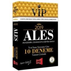 Yargı Yayınevi - 2019 ALES VIP Tamamı Çözümlü 10 Deneme Yargı Yayınevi