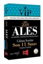 Yargı Yayınevi - 2019 ALES VIP Tamamı Çözümlü Son 11 Sınav Çıkmış Sorular Yargı Yayınevi
