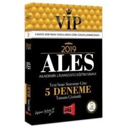 Yargı Yayınevi - 2019 ALES VIP Yeni Sınav Sistemine Göre Tamamı Çözümlü 5 Deneme Yargı Yayınevi