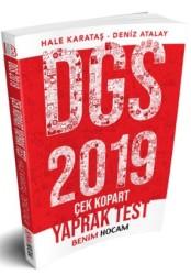 Benim Hocam Yayınları - 2019 DGS Çek Kopart Yaprak Test Bankası Benim Hocam Yayınları