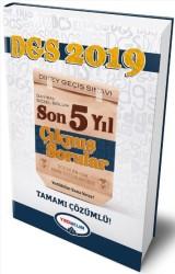 Yediiklim Yayınları - 2019 DGS Sayısal Sözel Bölüm Tamamı Çözümlü Son 5 Yıl Çıkmış Sorular Yediiklim Yayınları