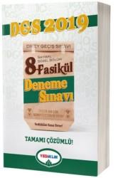 Yediiklim Yayınları - 2019 DGS Sayısal Sözel Tamamı Çözümlü 8 Fasikül Deneme Sınavı Yediiklim Yayınları