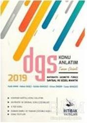 İntibak Yayınları - 2019 DGS Tamamı Çözümlü Konu Anlatım