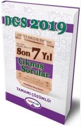 Yediiklim Yayınları - 2019 DGS Tamamı Çözümlü Son 7 Yıl Çıkmış Sorular Yediiklim Yayınları