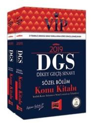 Yargı Yayınevi - 2019 DGS VIP Sayısal – Sözel Bölüm Konu Kitabı Modüler Set 2 Kitap Yargı Yayınevi
