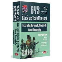 Data Yayınları - 2019 GYS Ceza ve Tevkifevleri Ceza İnfaz Kurumu 2. Müdürlük İdare Memurluğu Hazırlık Kitabı