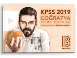 Benim Hocam Yayınları - 2019 KPSS Coğrafya Video Ders Notları Benim Hocam Yayınları