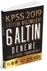 Benim Hocam Yayınları - 2019 KPSS Eğitim Bilimleri 6 ALTIN Çözümlü Fasikül Deneme Benim Hocam Yayınları