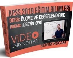 Benim Hocam Yayınları - 2019 KPSS Eğitim Bilimleri Ölçme ve Değerlendirme Video Ders Notları Benim Hocam Yayınları