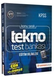 Uzman Kariyer Yayınları - 2019 KPSS Eğitim Bilimleri Tekno Test Bankası Uzman Kariyer Yayınları