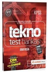 Uzman Kariyer Yayınları - 2019 KPSS Konu Sıralı Tekno Test Bankası - Anayasa
