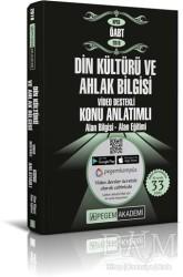 Pegem A Yayıncılık - Akademik Kitaplar - 2019 KPSS ÖABT Din Kültürü ve Ahlak Bilgisi Video Destekli Konu Anlatımlı