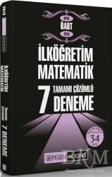 Pegem A Yayıncılık - Akademik Kitaplar - 2019 KPSS ÖABT İlköğretim Matematik Tamamı Çözümlü 7 Deneme