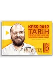 Benim Hocam Yayınları - 2019 KPSS Tarih Video Ders Notları Benim Hocam Yayınları