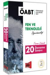 Yargı Yayınları - 2019 ÖABT EINSTEIN Fen ve Teknoloji Öğretmenliği Tamamı Çözümlü 20 Deneme Sınavı Yargı Yayınları