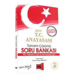 Yargı Yayınları - 2019 T.C. Anayasası Tamamı Çözümlü Soru Bankası Yargı Yayınları