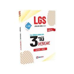 Lider Plus Yayınları - 2020 8. Sınıf LGS 3 Deneme İlk Dönem Konuları Lider Plus Yayınları