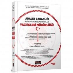 Savaş Yayınevi - 2020 Adalet Bakanlığı GYS Sınavları Yazı İşleri Müdürlüğü Konu Anlatımı ve 1000 Soru Savaş Yayınları