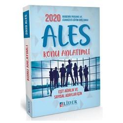 Lider Yayınları - 2020 ALES Konu Anlatımlı Eşit Ağırlık Sayısal Lider Yayınları