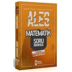 İSEM Yayıncılık - 2020 ALES Matematik Sayısal Yetenek Tamamı Çözümlü Soru Bankası İsem Yayınları