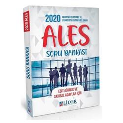 Lider Yayınları - 2020 ALES Soru Bankası Eşit Ağırlık Sayısal Lider Yayınları