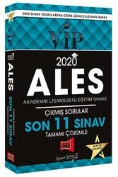 Yargı Yayınevi - 2020 ALES VIP Tamamı Çözümlü Son 11 Sınav Çıkmış Sorular Yargı Yayınları