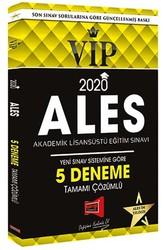Yargı Yayınevi - 2020 ALES VIP Yeni Sınav Sistemine Göre Tamamı Çözümlü 5 Deneme Yargı Yayınları