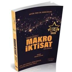 Savaş Yayınevi - 2020 BEST OF Makro İktisat Tamamı Çözümlü Soru Bankası Savaş Yayınları