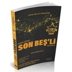 Savaş Yayınevi - 2020 BEST OF Son Beşli Tamamı Çözümlü Soru Bankası Savaş Yayınları