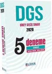 Lider Yayınları - 2020 DGS Sayısal Sözel 5 Deneme Sınavı Lider Yayınları