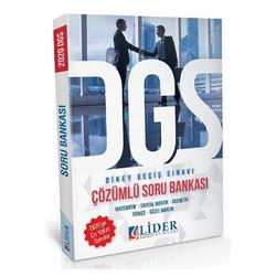 Lider Yayınları - 2020 DGS Soru Bankası Çözümlü Lider Yayınları