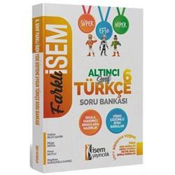 İSEM Yayıncılık - 2020 Farklı İsem 6. Sınıf Türkçe Soru Bankası