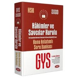 Data Yayınları - 2020 GYS Hakimler ve Savcılar Kurulu Personeli Konu Anlatımlı Soru Bankası Data Yayınları
