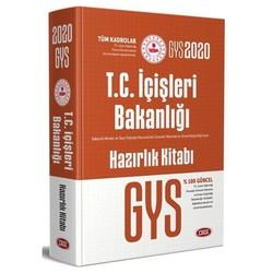 Data Yayınları - 2020 GYS İçişleri Bakanlığı Tüm Kadrolar Konu Anlatımlı Hazırlık Kitabı Görevde Yükselme Data Yayınları