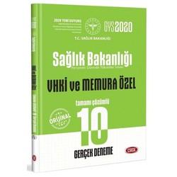 Data Yayınları - 2020 GYS Sağlık Bakanlığı Vhki ve Memura Özel 10 Deneme Görevde Yükselme Data Yayınları