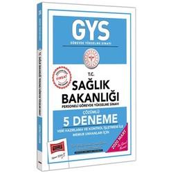 Yargı Yayınları - 2020 GYS T.C. Sağlık Bakanlığı Veri Hazırlama ve Kontrol İşletmeni ile Memur Unvanları İçin Çözümlü 5 Deneme Yargı Yayınları