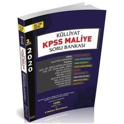 Savaş Yayınevi - 2020 KPSS A Grubu Külliyat Maliye Soru Bankası 3. Baskı Savaş Yayınları