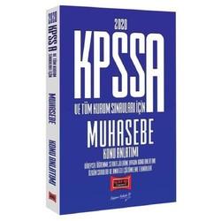 Yargı Yayınları - 2020 KPSS A Grubu Muhasebe Konu Anlatımı Yargı Yayınları