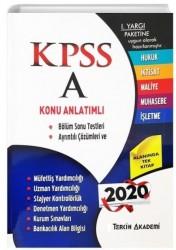 Tercih Akademi Yayınları - 2020 KPSS A Grubu Tüm Dersler Konu Anlatımlı Tercih Akademi