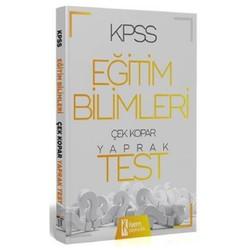 İSEM Yayıncılık - 2020 KPSS Eğitim Bilimleri Çek Kopar Yaprak Test