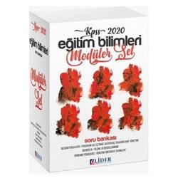 Lider Yayınları - 2020 KPSS Eğitim Bilimleri Soru Bankası Modüler Set Lider Yayınları