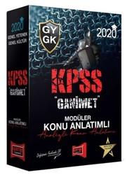 Yargı Yayınları - 2020 KPSS Genel Yetenek Genel Kültür GANİMET Konu Anlatımlı Modüler Set Yargı Yayınları