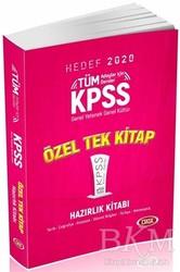 Data Yayınları - KPSS ALES DGS Kitapları - 2020 KPSS Genel Yetenek – Genel Kültür Konu Anlatımlı Tek Kitap