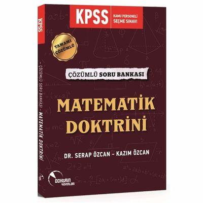 2020 KPSS Matematik Doktrini Tamamı Çözümlü Soru Bankası Doktrin Yayınları