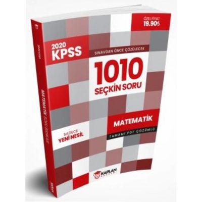 2020 KPSS Öncesi Çözülmesi Gereken Tamamı PDF Çözümlü 1010 Seçkin Matematik Sorusu Kaplan Akademi